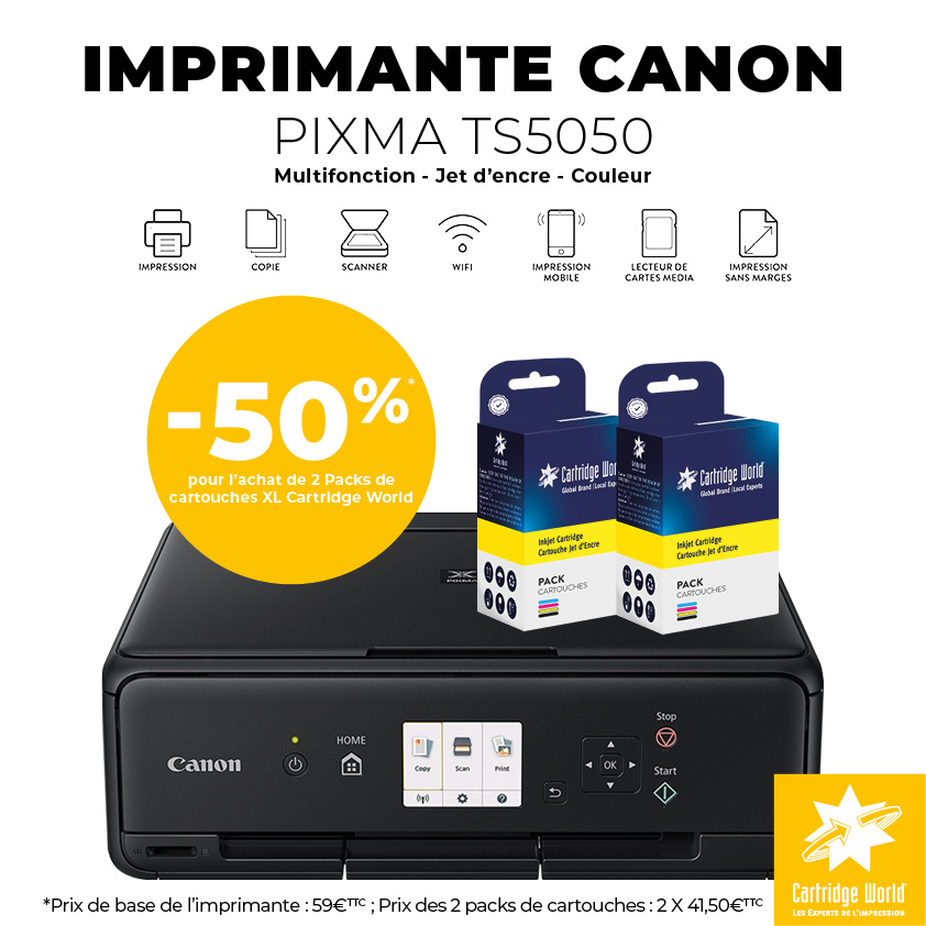 Canon TS5050 à -50%